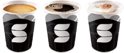 5 models<br /> of cups
